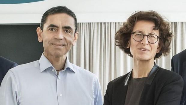 Ugur Sahin e Öezlem Türeci, fondatori di BioNTech (Immagine: divulgazione)