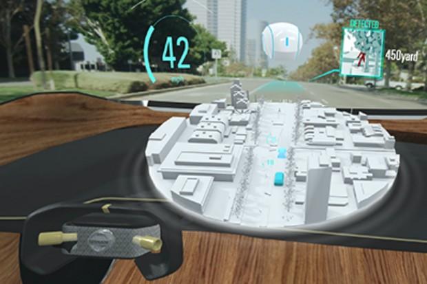 Conceito futurístico da Nissan de tecnologia Invisible-to-Visible (Foto: Divulgação)