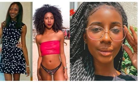 Camilla de Lucas com diferentes estilos. A influenciadora, de 25 anos, começou a ser mais ativa na internet em 2017. Durante a pandemia, seus vídeos bombaram Reprodução