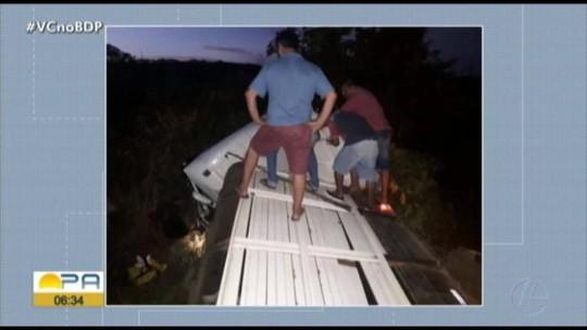 Motorista de caminhão morre em acidente na BR-010 em Ipixuna do Pará