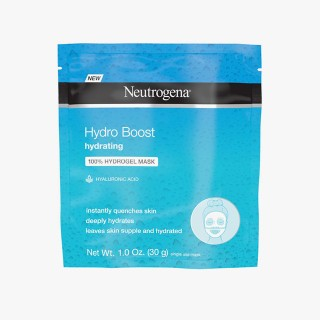 Hydro Boost Hydrating Hydrogel Mask, R$ 20, Neutrogena