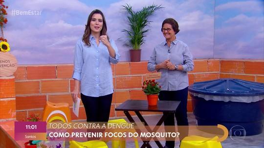 Campanha de combate ao mosquito da dengue é antecipada; Brasil já registra mais de 1,4 milhão de casos da doença