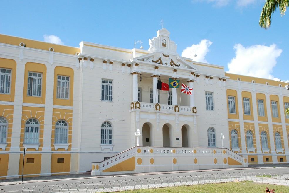 Tribunal de Justiça da Paraíba (TJ-PB), em João Pessoa — Foto:  Ednaldo Araújo/TJPB