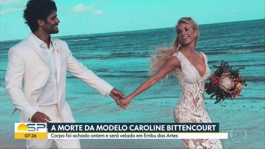 Corpo da modelo Caroline Bittencourt é encontrado em São Sebastião