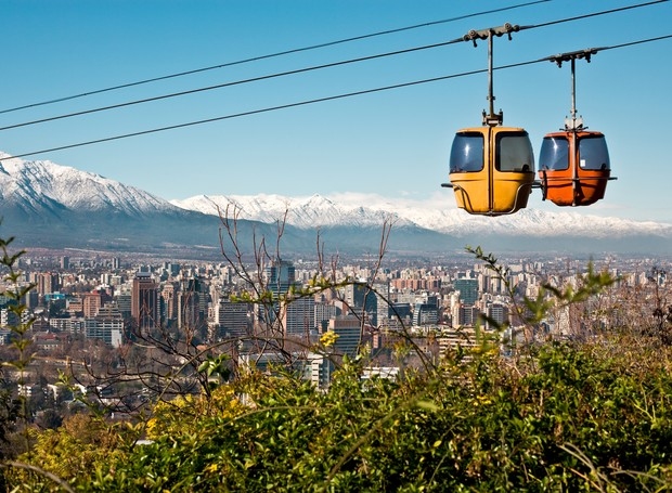 Santiago do Chile (Foto: ThinkStockPhotos)