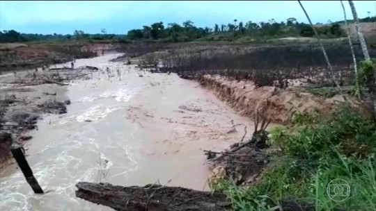 Rompimento de barragens em Rondônia deixa 100 famílias isoladas