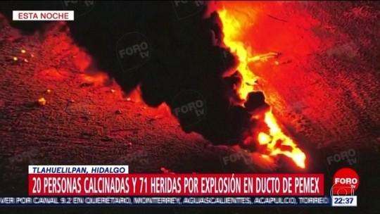 Explosão de oleoduto no México deixa 66 mortos