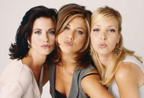 Courteney Cox, Jennifer Aniston, Lisa Kudrow (Foto: Divulgação)