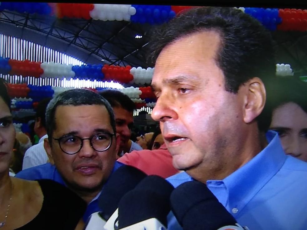 Carlos Eduardo foi escolhido pelo PDT para disputar o governo do RN (Foto: Tom Guedes/Inter TV Cabugi)