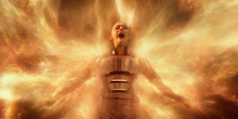 A atriz Sophie Turner como Jean Grey em cena de X-Men: Fênix Negra (Foto: Divulgação)