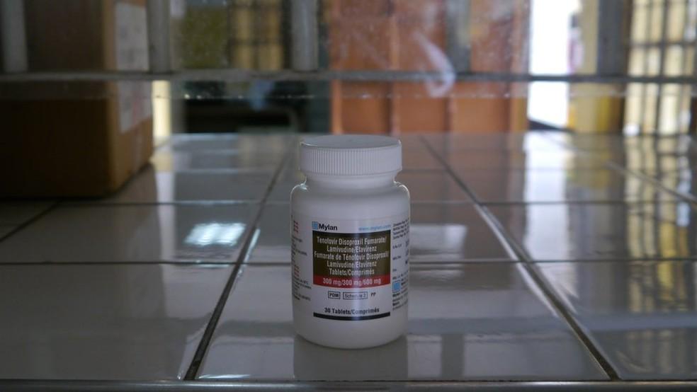 Esse é o antirretroviral mais usado em Moçambique, conhecido por 'tripla', cujo principal componente é o Efavirenz (Foto: Amanda Rossi/BBC Brasil)