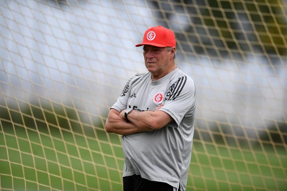 Abel Braga, técnico do Inter — Foto: Ricardo Duarte/Divulgação Inter