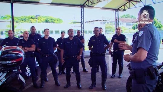 Guardas municipais treinam com PM