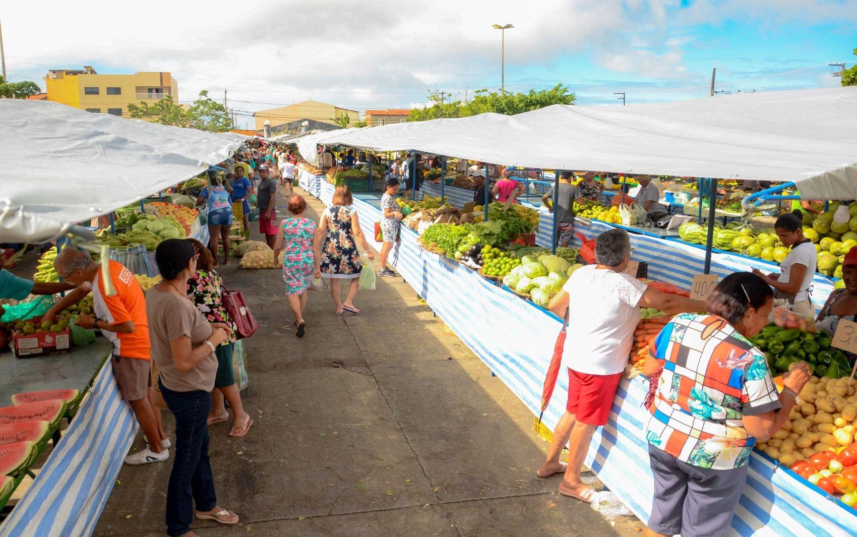 Feiras livres voltam a funcionar em Aracaju; veja lista