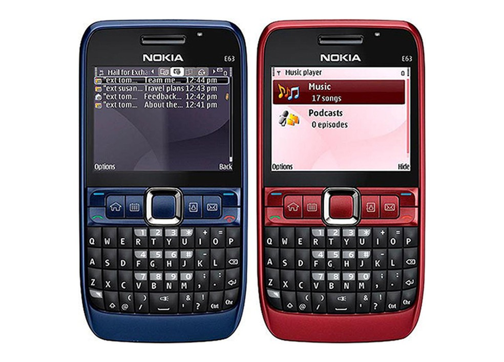 Celulares usavam infravermelho para transferir dados — Foto: Divulgação/Nokia