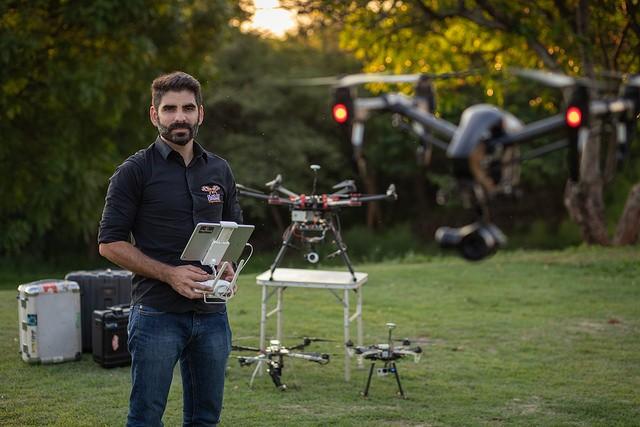 Fernando Daud, da Olho do Drone (Foto: Divulgação)