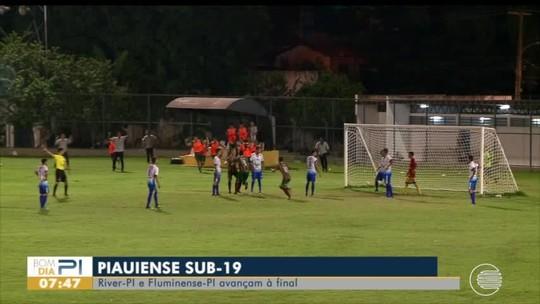 Sub-19: River-PI e Flu-PI vencem semifinais do Piauiense e garantem vaga na Copinha 2020