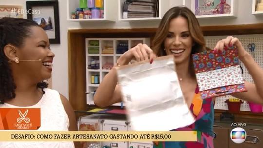 Artesã, meme dos 'três reais', recebe pedidos para camisetas de carnaval e ganha até marchinha