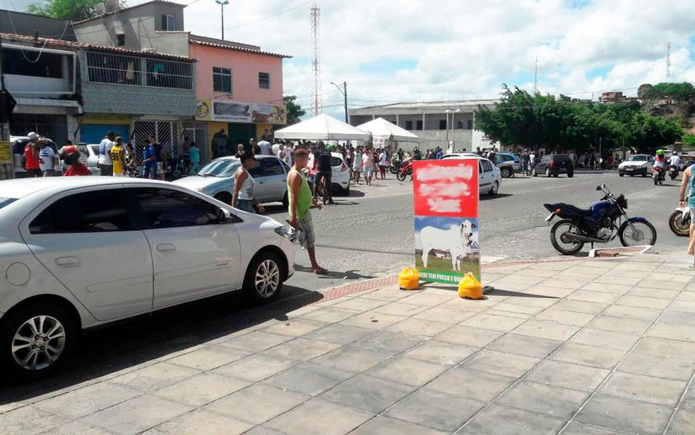 Crime aconteceu na tarde deste domingo, no Gleba C (Foto: Site Bahia No Ar)