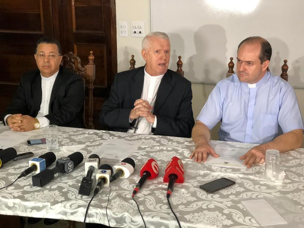 Arcebispo de Aparecida assume interinamente a Diocese de Limeira com saída de Dom Vilson — Foto: Helen Sacconi/EPTV