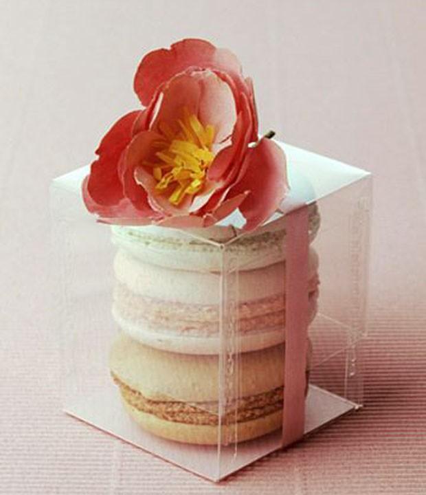 Lembrancinhas de casamento: Macarrons (Foto: Pinterest/Reprodução)
