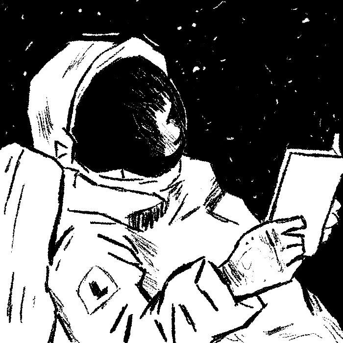 Os astronautas leitores