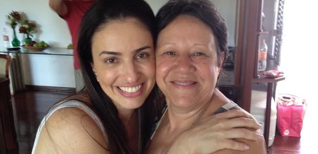O diálogo e a transparência aproximaram Karen e Silvia  (Foto: Arquivo pessoal)