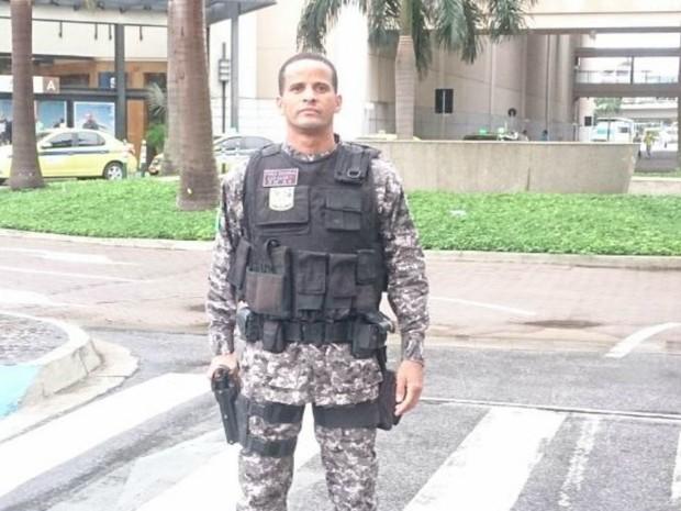 Ferreira está internado no Hospital Central do Exército no Rio de Janeiro  (Foto: Arquivo da família)
