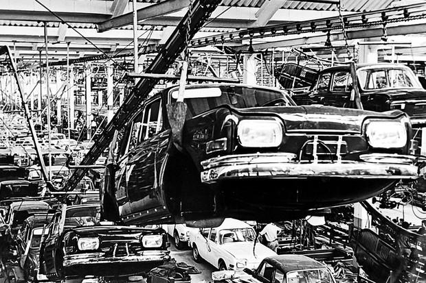 Fábrica VW 1600 (Foto: MIAU Museu da Imprensa Automotiva)