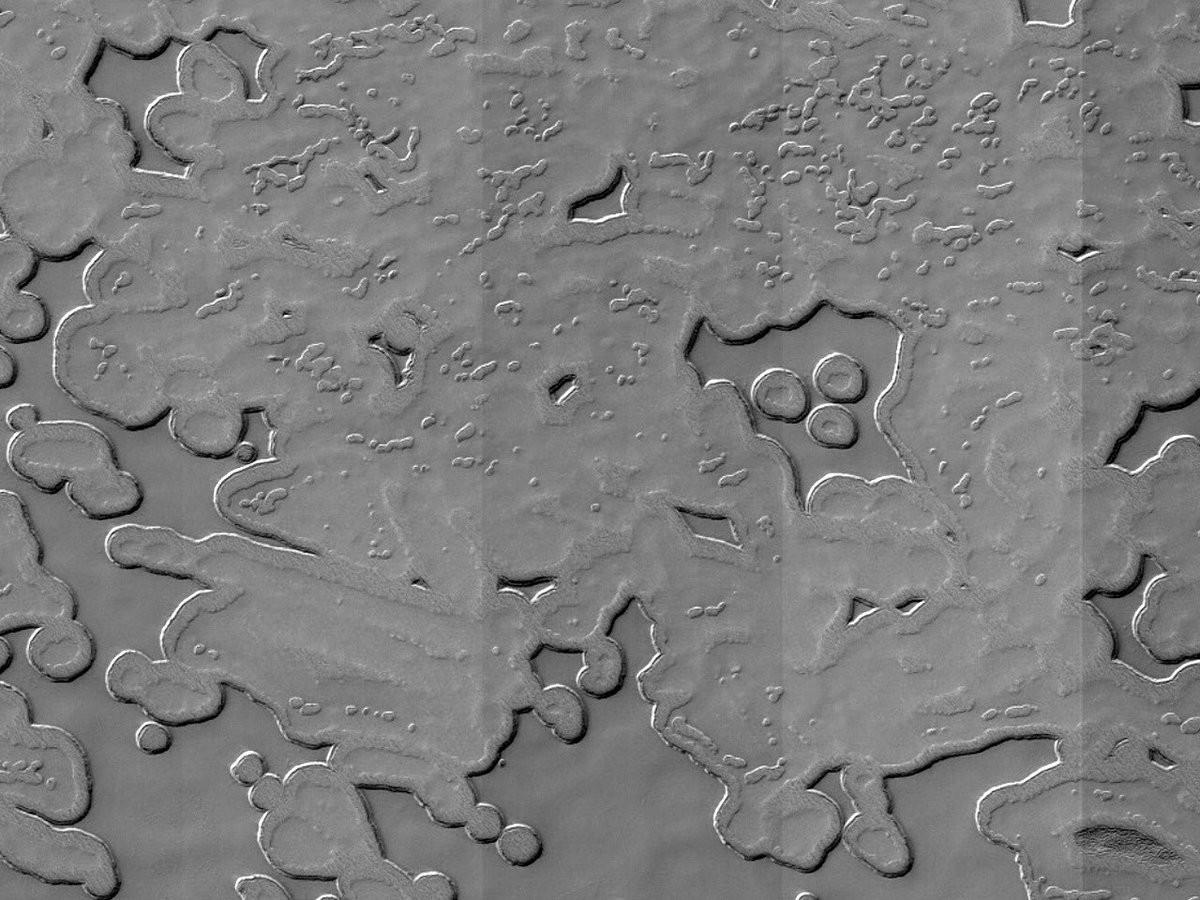 Muppet em Marte: astrônomos reconhecem pareidolia na superfície do planeta (Foto: NASA/JPL/University of Arizona)