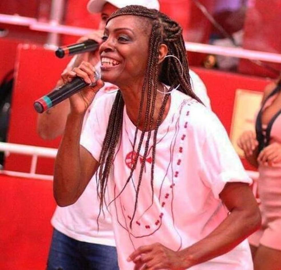 Lissandra Oliveira é cantora do Salgueiro no carnaval 2019 — Foto: Arquivo pessoal/ Lissandra Oliveira