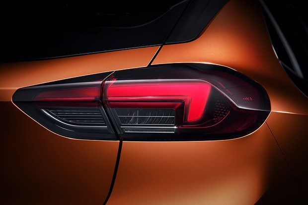 Lanterna do Opel Corsa-e 2020 (Foto: Divulgação)