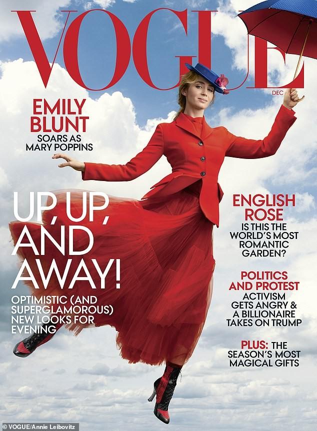 Emily Blunt (Foto: Reprodução Vogue)