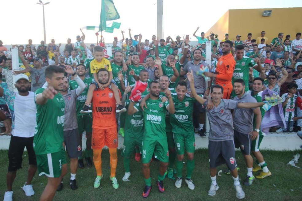 6e4e42734 ... Lagarto é o campeão simbólico da primeira fase do Campeonato Sergipano  2019 — Foto  Ricardo