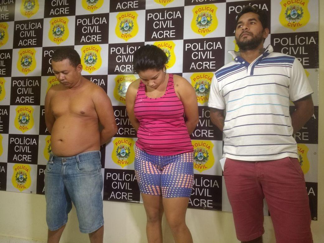 Durante operação, polícia prende quatro pessoas por furto de lojas e Fórum do Bujari