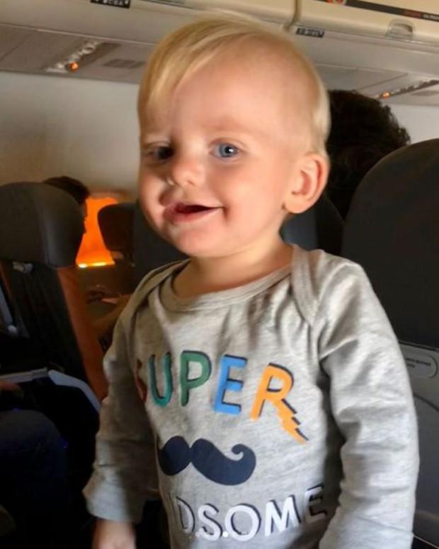Enrico, filho de Karina Bacchi (Foto: Reprodução/Instagram)