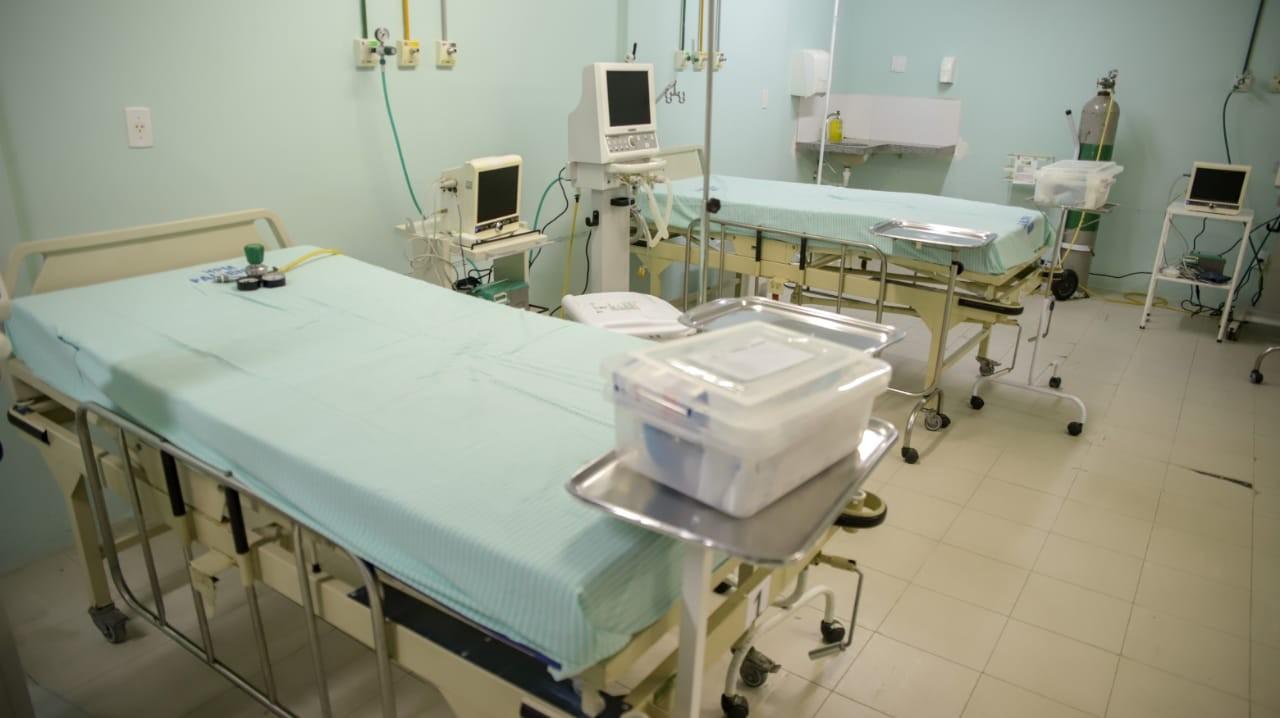 Com 40 leitos clínicos, hospital da PM do PI inicia atendimento de casos suspeitos de Covid-19