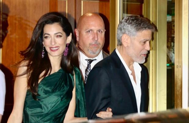 Amal e George Clooney (Foto: Backgrid)