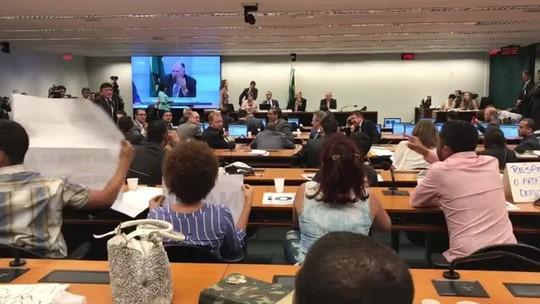 Câmara tem bate-boca em debate do projeto 'Escola sem Partido'