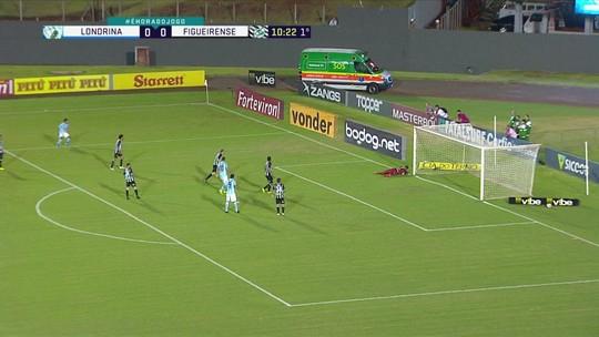 Londrina volta à formação tradicional, reencontra o ataque, mas não acha o gol contra o Figueirense