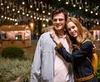 Sophia Abrahão e Hugo Bonemer em 'A lei do amor' |  Globo/ Ramon Vasconcellos