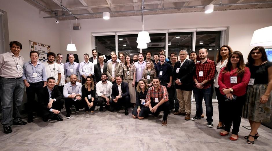 Empreendedores que partiparam do SP Stars, programa de capacitação da Prefeitura de São Paulo (Foto: Divulgação)