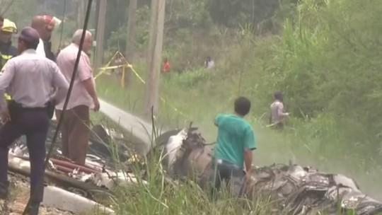 Cuba encontra segunda caixa-preta de avião que caiu após decolagem em Havana
