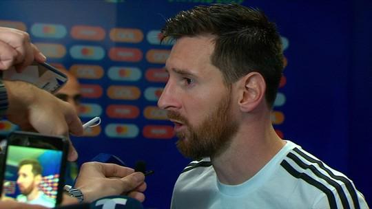 """Messi lamenta derrota na estreia na Copa América: """"Demora um tempo para aceitar"""""""