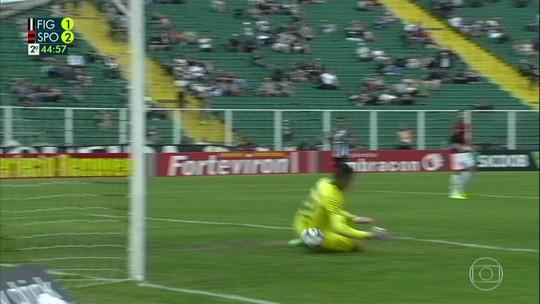 """Mailson comenta falhas no Sport em vitória sobre o Figueirense: """"Não fui feliz"""""""