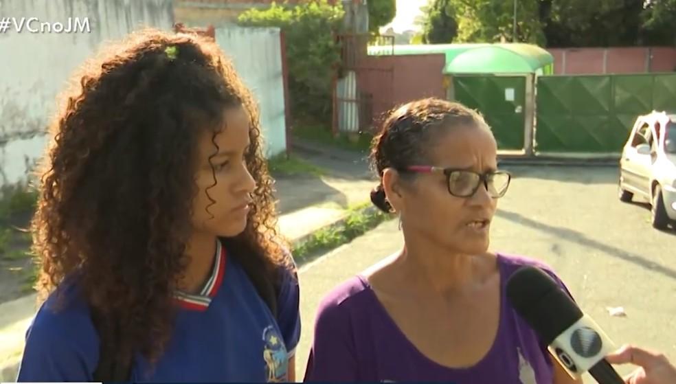 Colégio foi encontrado fechado nesta sexta-feira (29). — Foto: Reprodução / TV Bahia