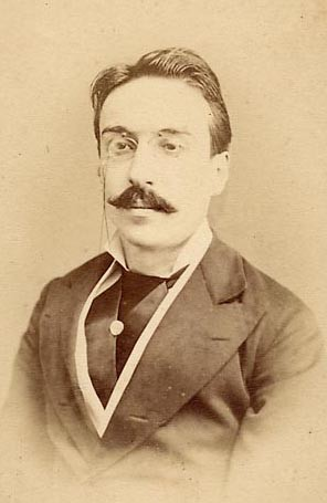 Retrato do português Eça de Queirós (Foto: Wikimedia Commons)