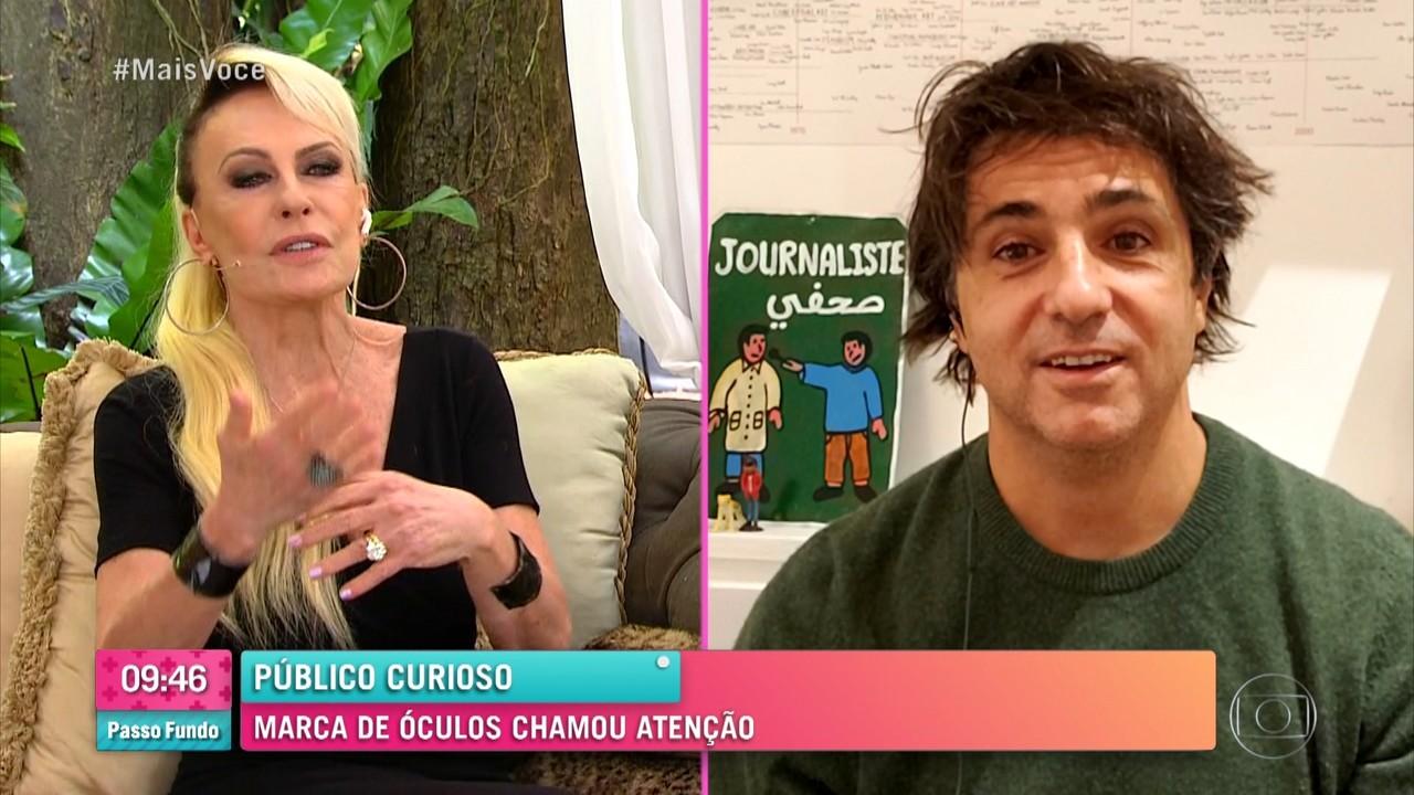 Ana Maria conversa com Guga Chacra sobre suas paixões: política e natação