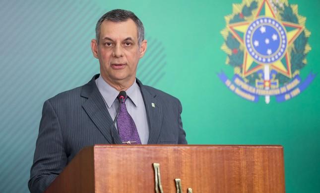 Briefing do porta-voz da Presidência, general Rêgo Barros
