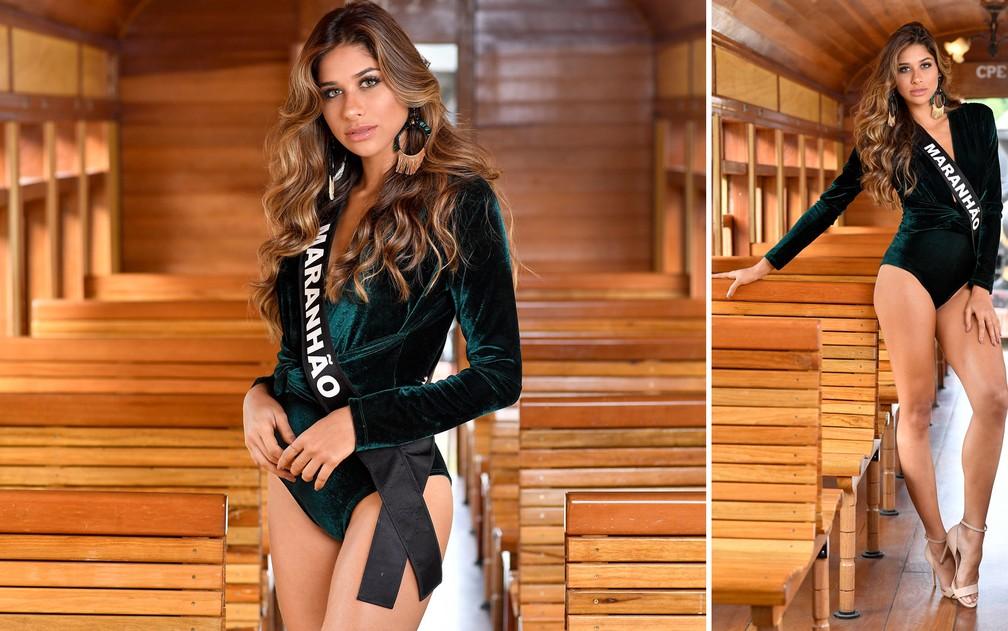 Anna Carolina Sousa, 21 anos, empresária e estudante de odontologia, é a Miss Maranhão — Foto: Rodrigo Trevisan/Divulgação/Miss Brasil